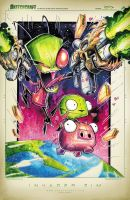 Invader Zim by RobDuenas