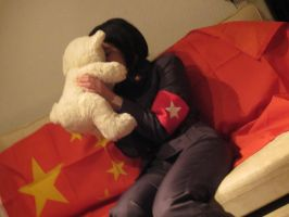 China-Teddy bear! by malentia