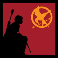 Katniss Silhouette by DreamBig20761