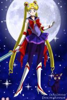 Jedi Sailor Moon by LadyIlona1984