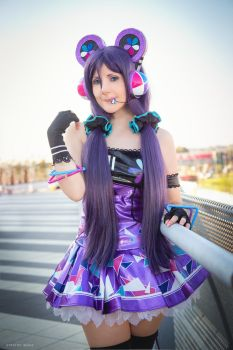 Cyber Nozomi by Giuly-Chan