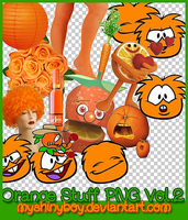 Orange Stuff PNG Vol.2 by MyShinyBoy