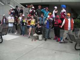 SacAnime Pokemon Trainer Gathering by wolfforce58