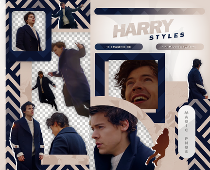 PACK PNG 897| HARRY STYLES (SIGN OF THE TIMES) by MAGIC-PNGS