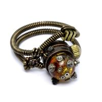 Steampunk Ring B by CatherinetteRings