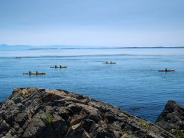kayaking in lime kiln by crazytmac