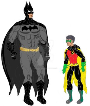Batman and Robin- New 52 by ArteDigitalSA