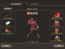 my new improved scouts look and loadout. by Mr-chip