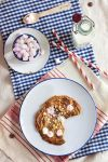 Milk chocolate, hazelnut and marshmallows cookie by kupenska