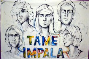 Tame Impala banner by Martellaa
