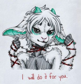 I will do it for you... by Shironya97