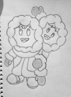 Ice Climbers Sketch by Megalomaniacaly