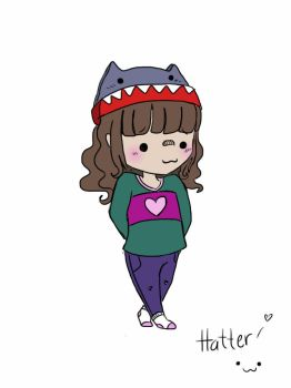 Just doodling me by Suwibia