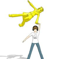 Pewdiepie and Stephano :D by DibFan4LifeX3