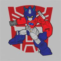 Optimus Prime SD by bahumit12