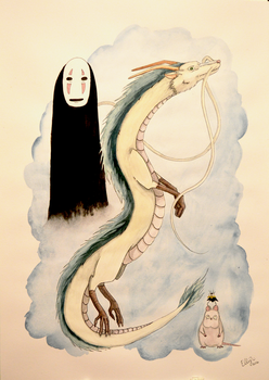 Spirited Away by ElzieBanana