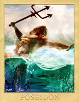 POSEIDON - GREEK GODS PROJECT by isikol
