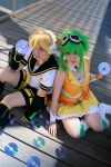 02:. Len and Gumi by Yuiie