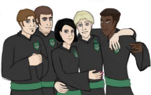 Slytherin Gang by Rotae