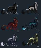 Eastern Adoptables TAKEN by Blackpassion777
