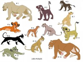 Black Friday Sale Open TLK Adoptables by Julia-adopts