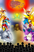The Legendary Battle -Twitch Plays Pokemon- by NWSaiyanX