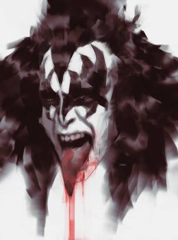 Gene Simmons of KISS by danielmchavez