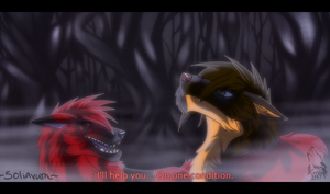 Collab - Issirk and Larx by Krissi2197