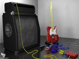 telecaster n amplifier by bazzier
