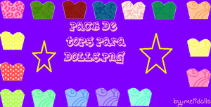 Pack De Tops Para Dolls Png By Melidolls by MeliDolls