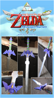 Skyward Sword - Master Sword Prop by sugarpoultry