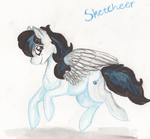 Gift - OC Sketcheer by Leafstormy