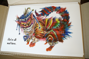 Cheshire Cat Prints by MonsterBrandCrafts