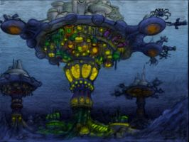 Underwater City by Benjamin-the-Fox