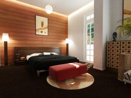 African Hotel Room opt1 by a1future