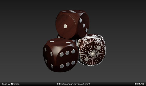 Dice D6 - Game Asset by LWNorman