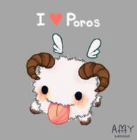 Poro Puff Luff by SpaceCadetAmy