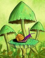 Snail King by mc-Jameson
