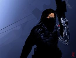 The Winter Soldier by TheRisingSoul