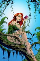 poison ivy inked by sereglaure-d4qzbe6 ITS by intheswamp