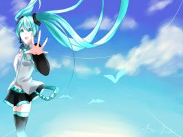 Hatsune Miku: Happiness by Mai-Kouri