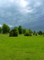 Stock Image - Green Landscape - 04 by Life-For-Sale