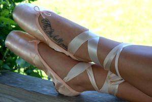 Ballet Shoes by hench4life