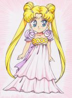 Chibi Princess Serenity by ladymadge