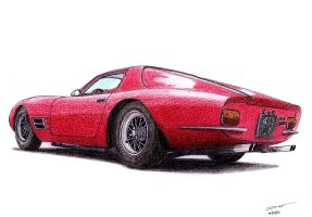 1207 - 02-02 - 1966 Lamborghini 400 GT Monza by TwistedMethodDan