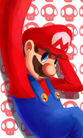 SmashBros:Mario by ApplFruit