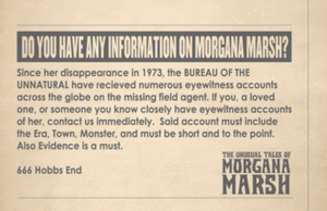 Morgana Marsh Newspaper Ad by Jarvisrama99