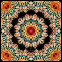 Summer - Mandala by Lilyas