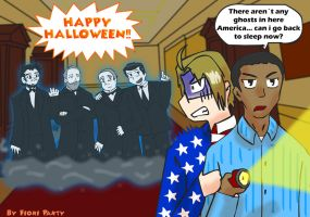 APH: Haunted White House by fiori-party