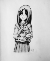Request Osaka and Slowpoke by dvx69